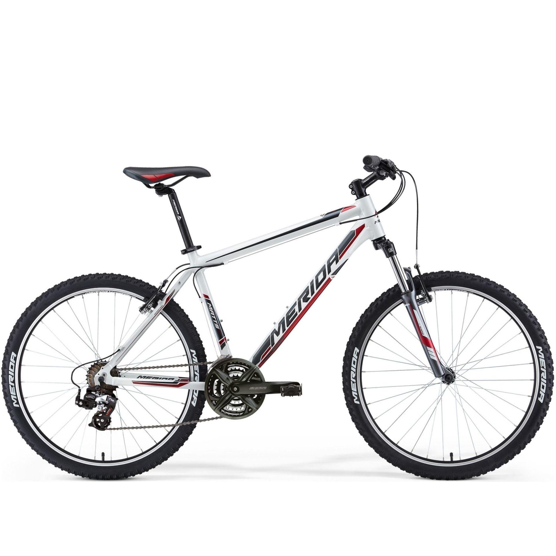 Rower Merida Matts 5-V biały|czarny|czerwony