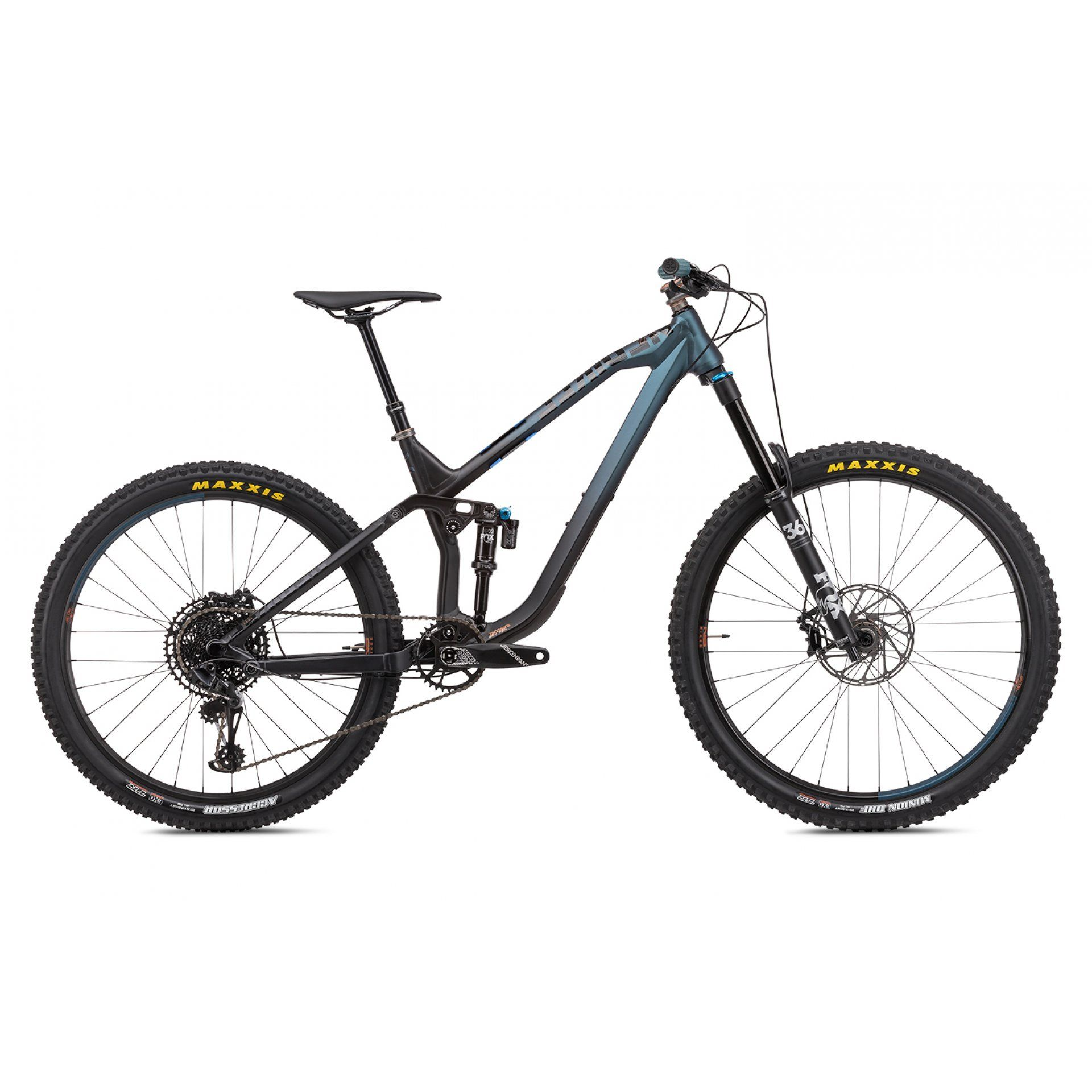 ROWER NS BIKES DEFINE AL 160 BLACK|BLUE 1