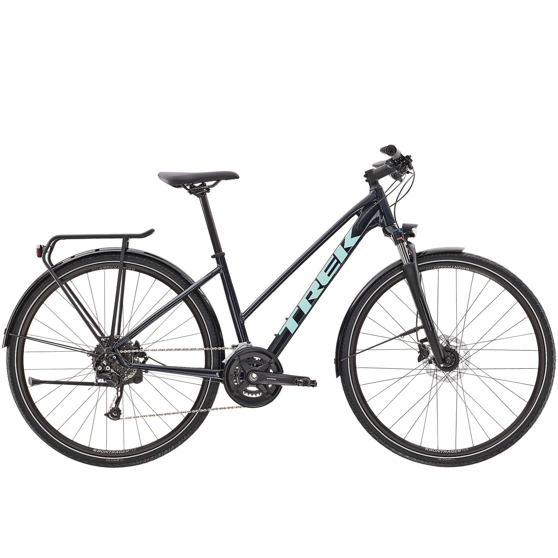 ROWER TREK DUAL SPORT 3 EQUIPPED STAGGER NAUTICAL NAVY 1