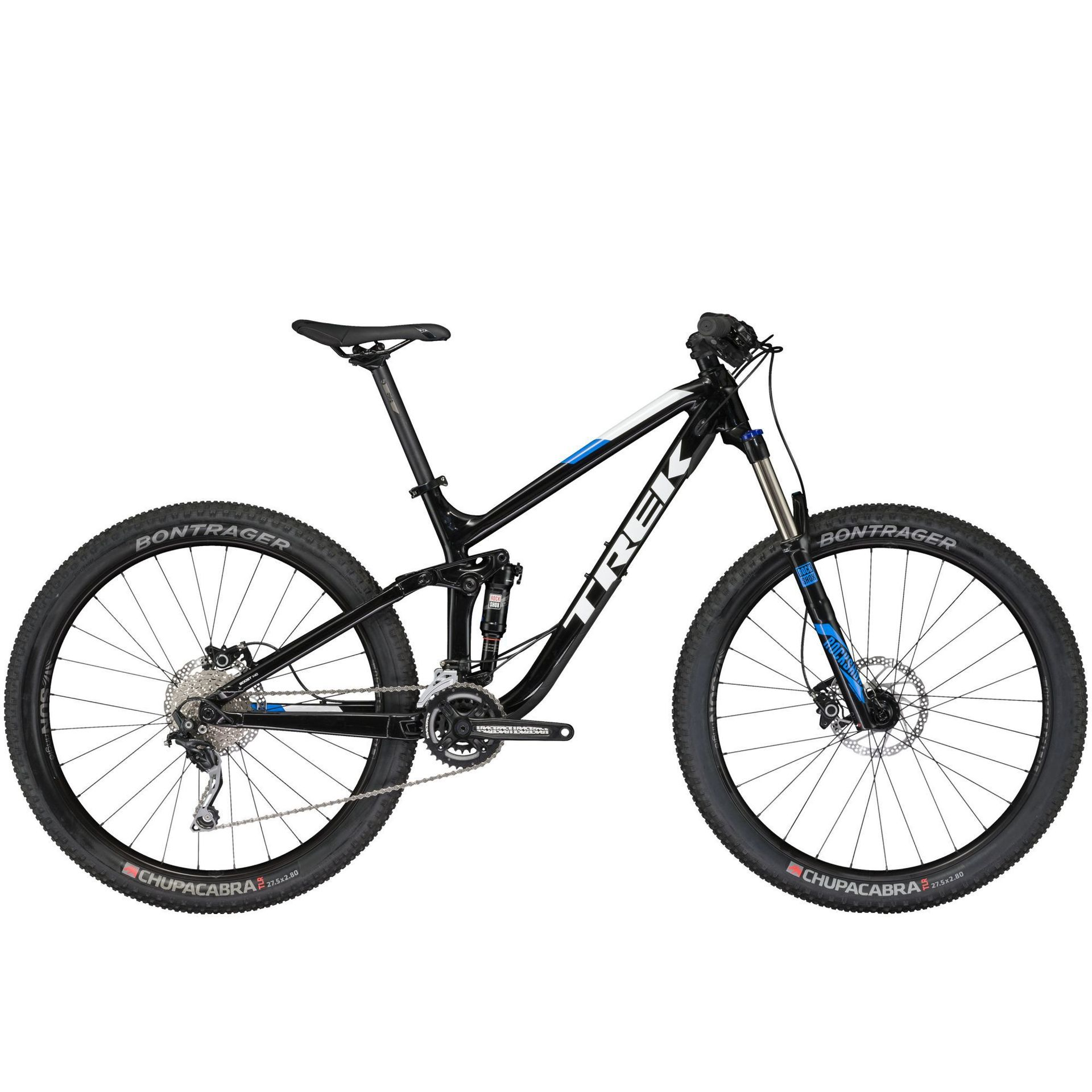 ROWER TREK FUEL EX 9 2017 27.5 TREK BLACK 1