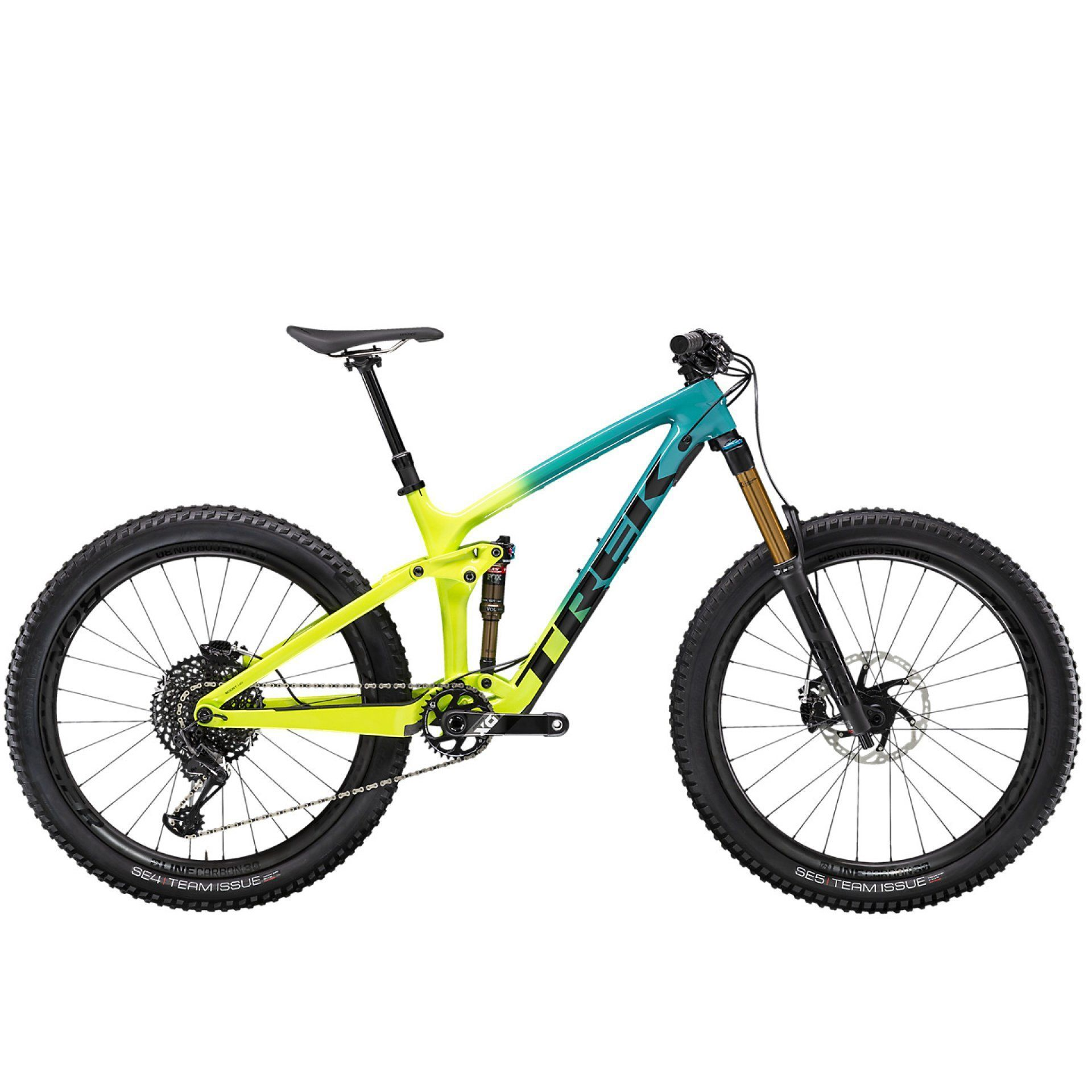 ROWER TREK REMEDY 9.9 TEAL TO VOLT FADE 1