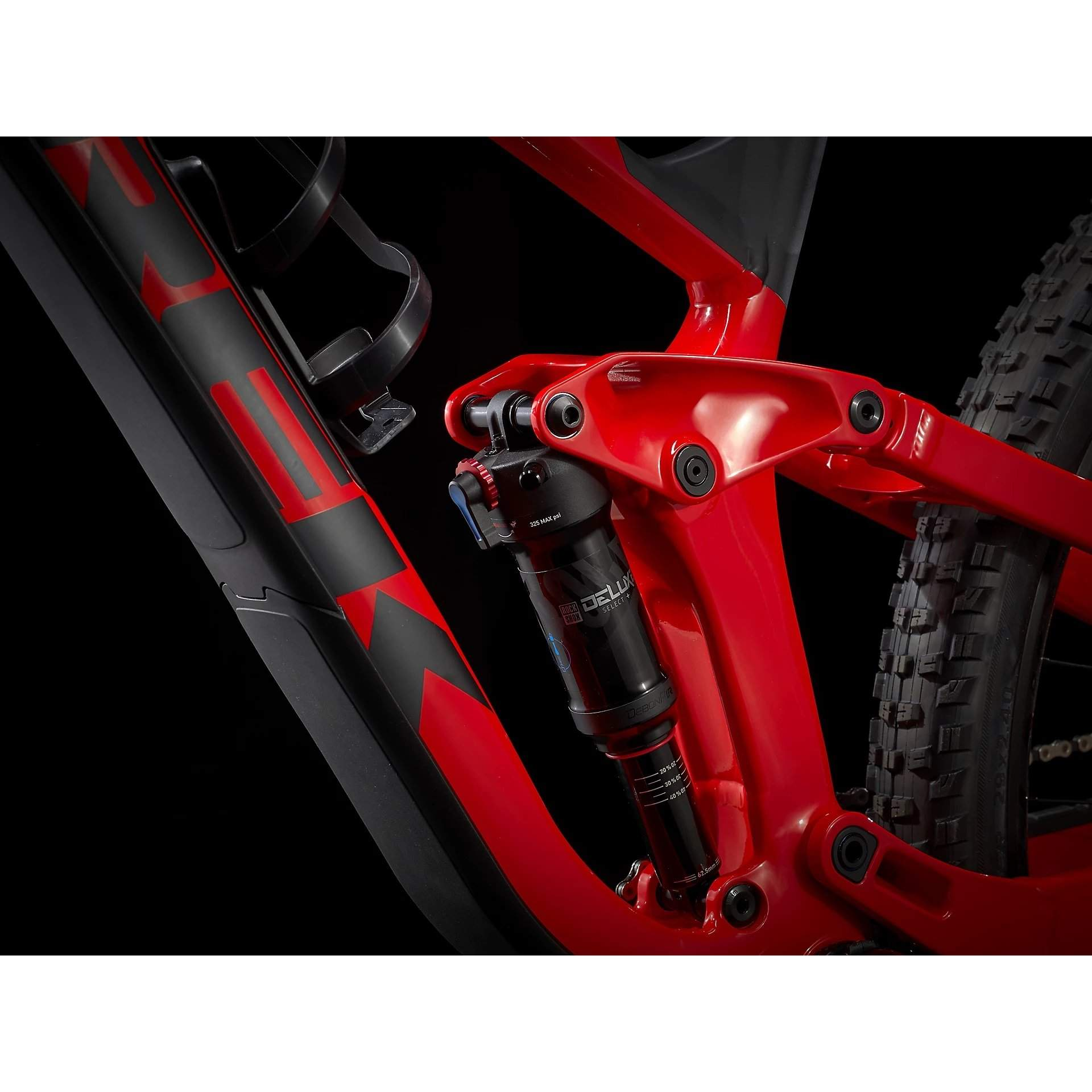 ROWER TREK SLASH 7 GLOSS RADIOACTIVE RED|MATTE BLACK 6