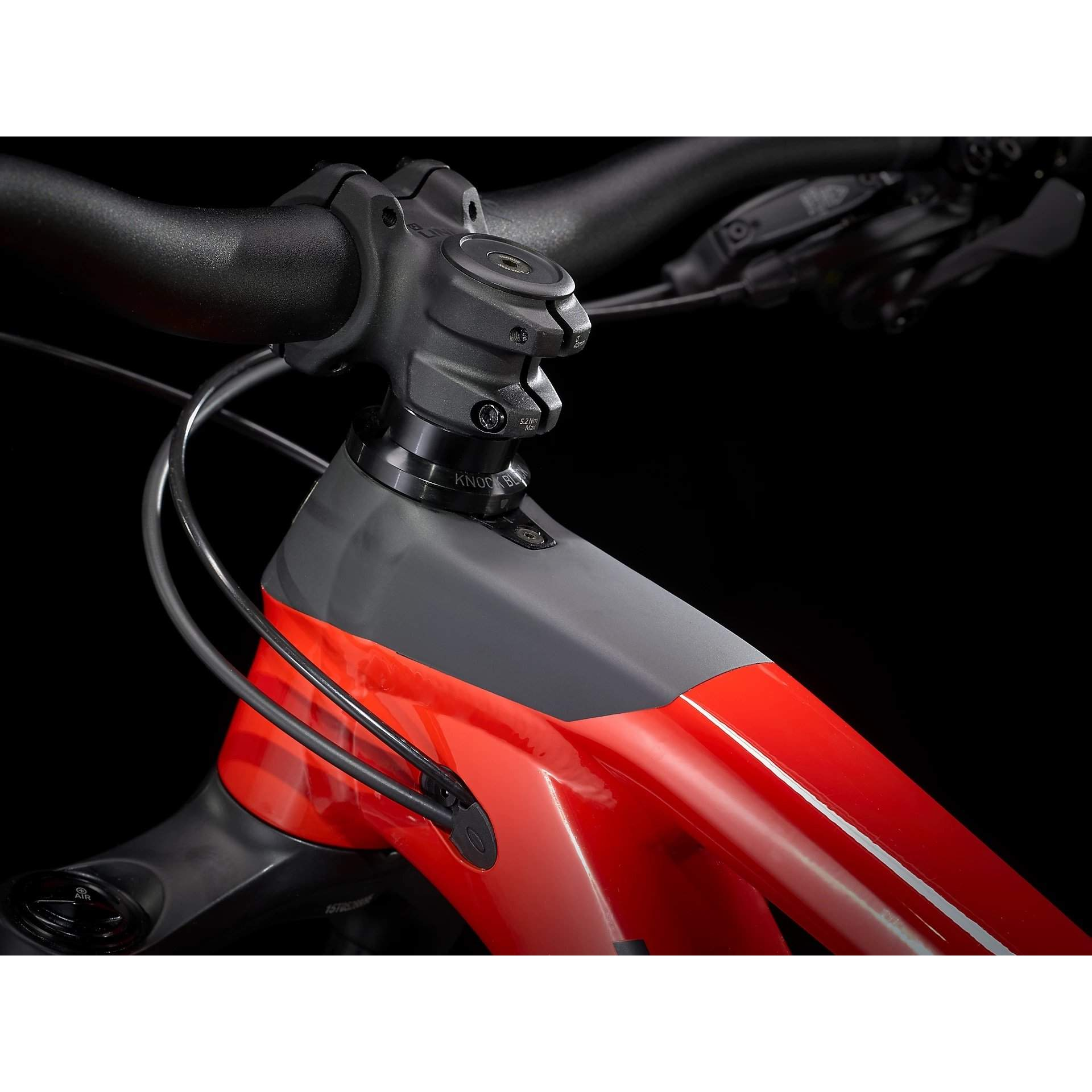 ROWER TREK SLASH 7 GLOSS RADIOACTIVE RED|MATTE BLACK 8