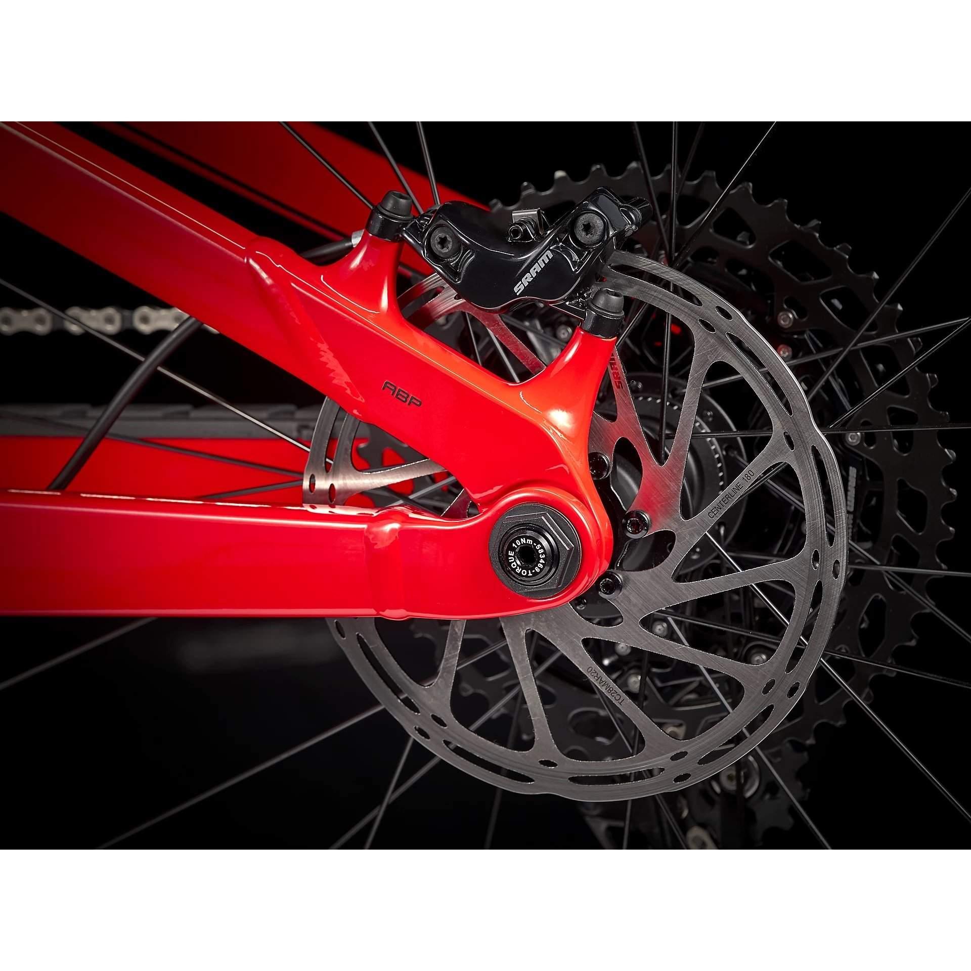 ROWER TREK SLASH 7 GLOSS RADIOACTIVE RED|MATTE BLACK 91