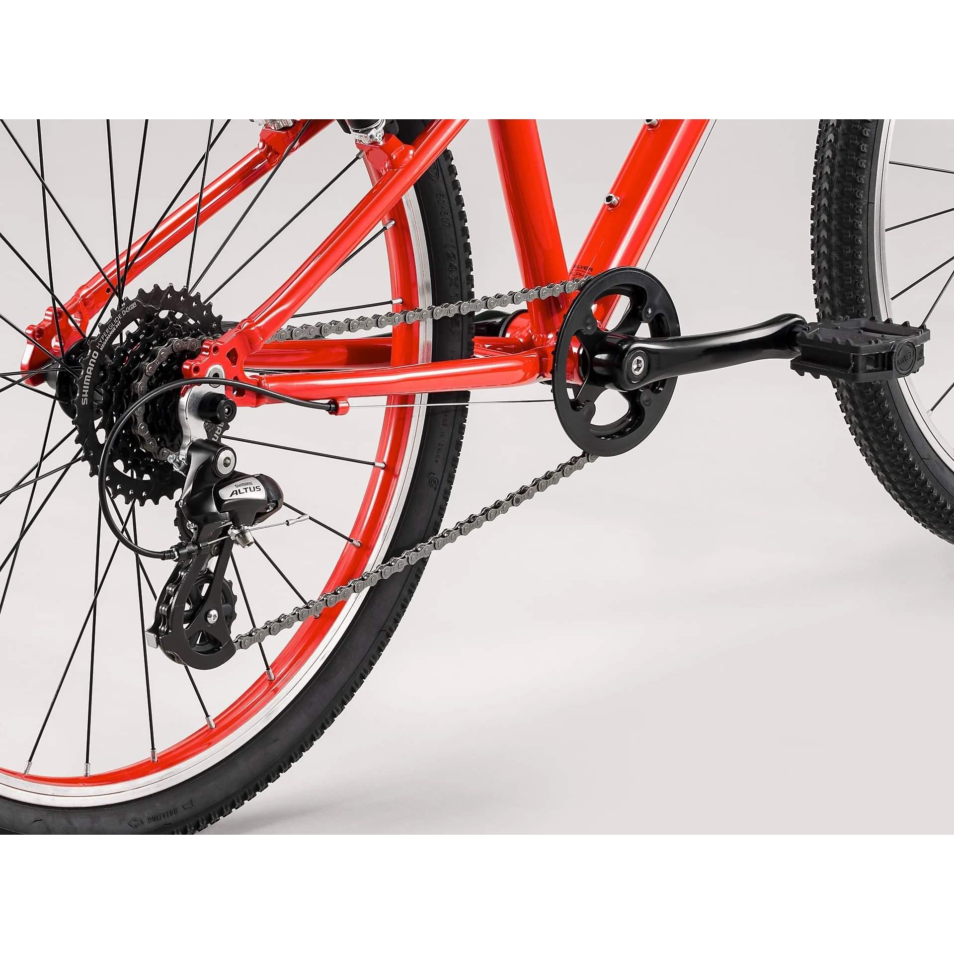 ROWER TREK WAHOO 24 VIPER RED|TREK BLACK 5