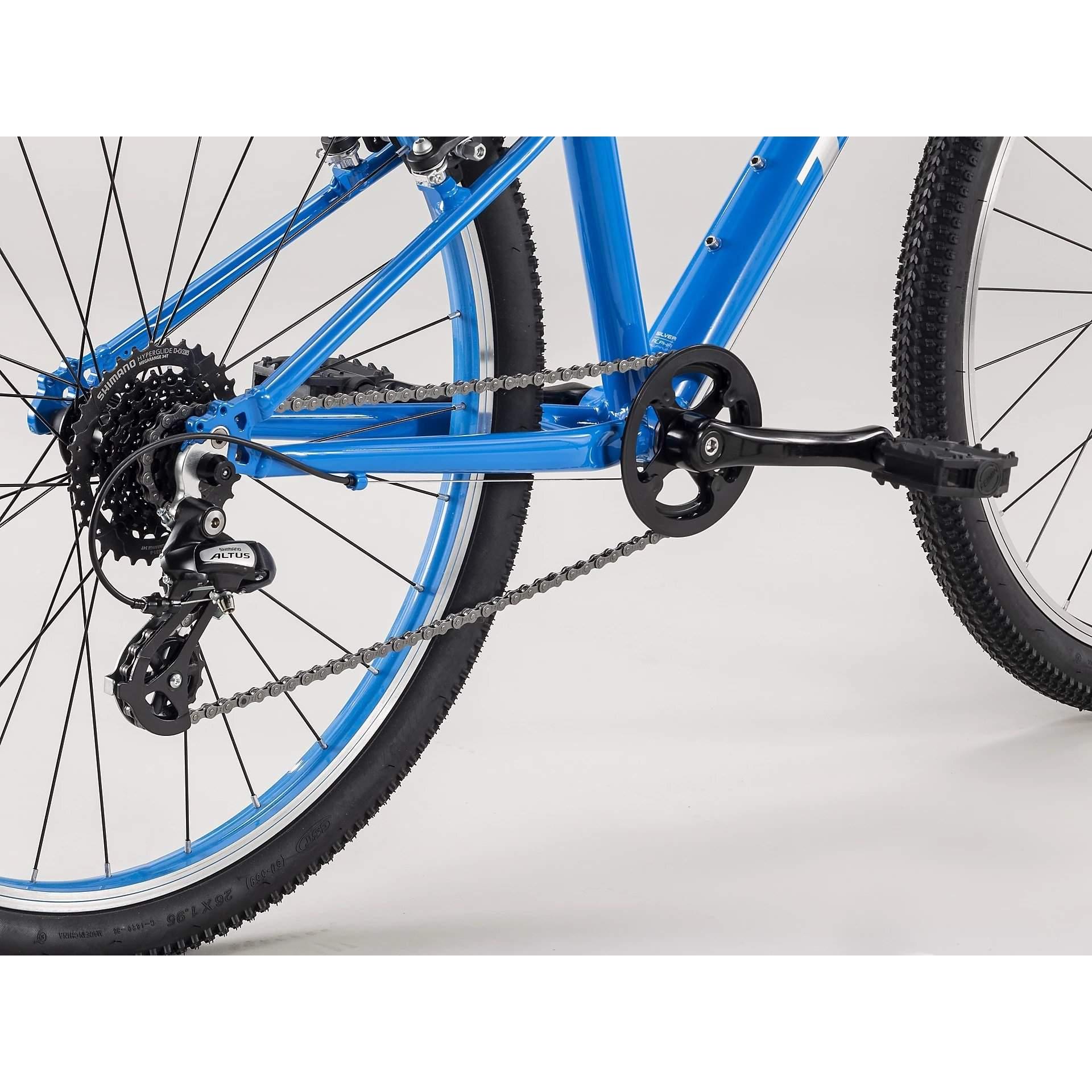ROWER TREK WAHOO 26 WATERLOO BLUE|QUICKSLVER 6