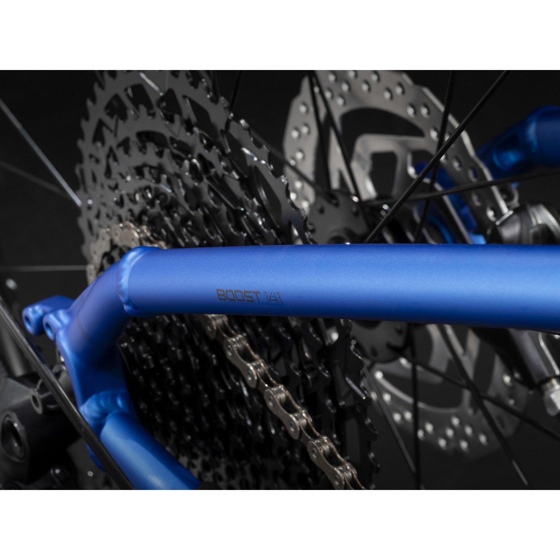 ROWER TREK X-CALIBER 8 ALPINE BLUE 27 92