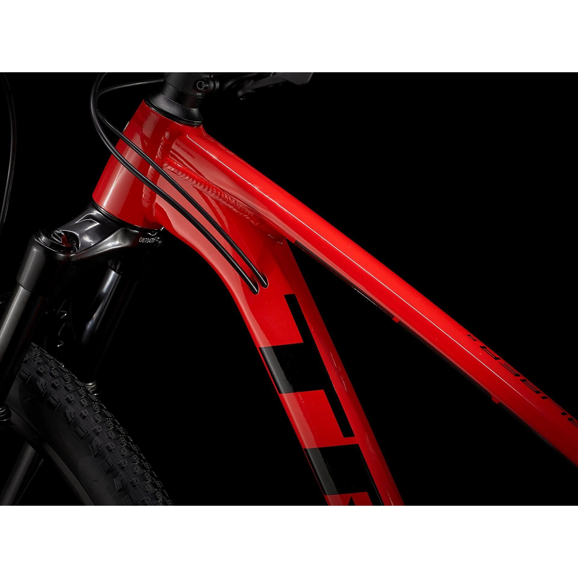 ROWER TREK X-CALIBER 8 RADIOACTIVE RED|TREK BLACK 5