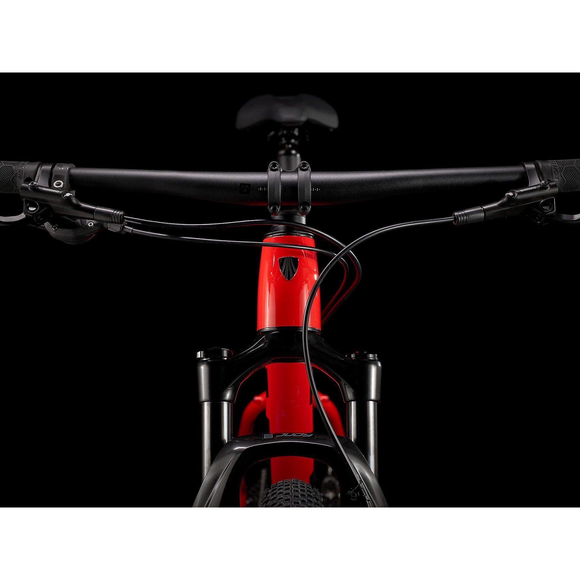 ROWER TREK X-CALIBER 8 RADIOACTIVE RED|TREK BLACK 9