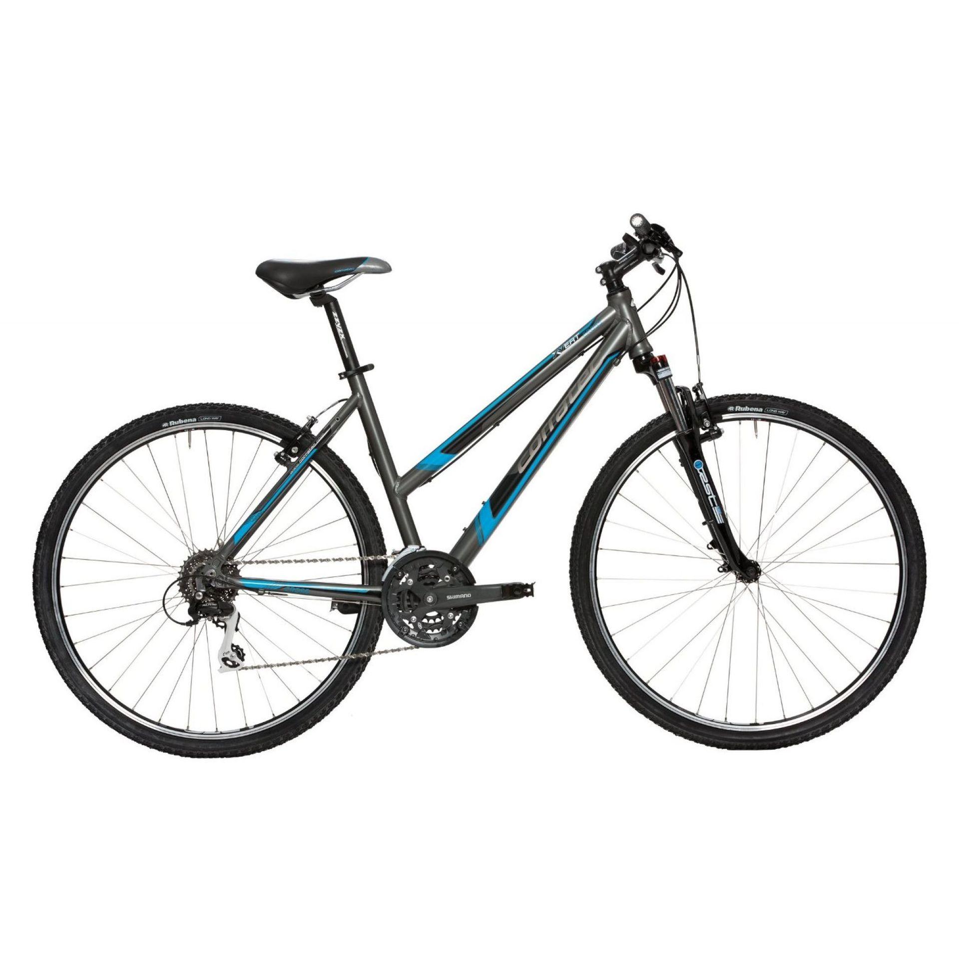 Rower Corratec X- Vert Cross Lady szaro niebieski