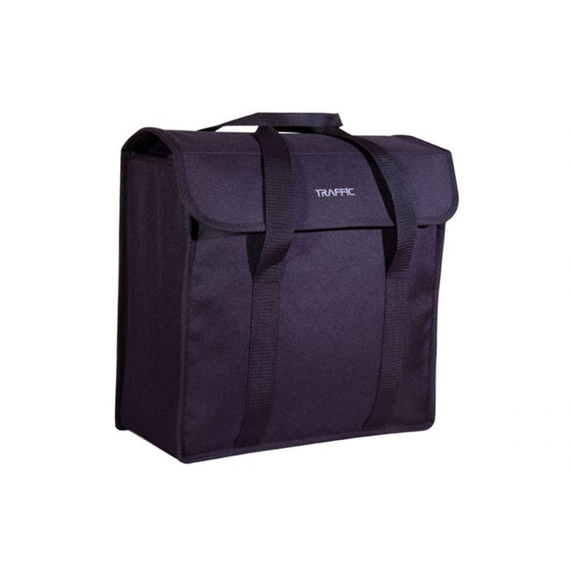 Sakwa Miejska Pojedyncza FastRider Traffic Shopper Bag czarna