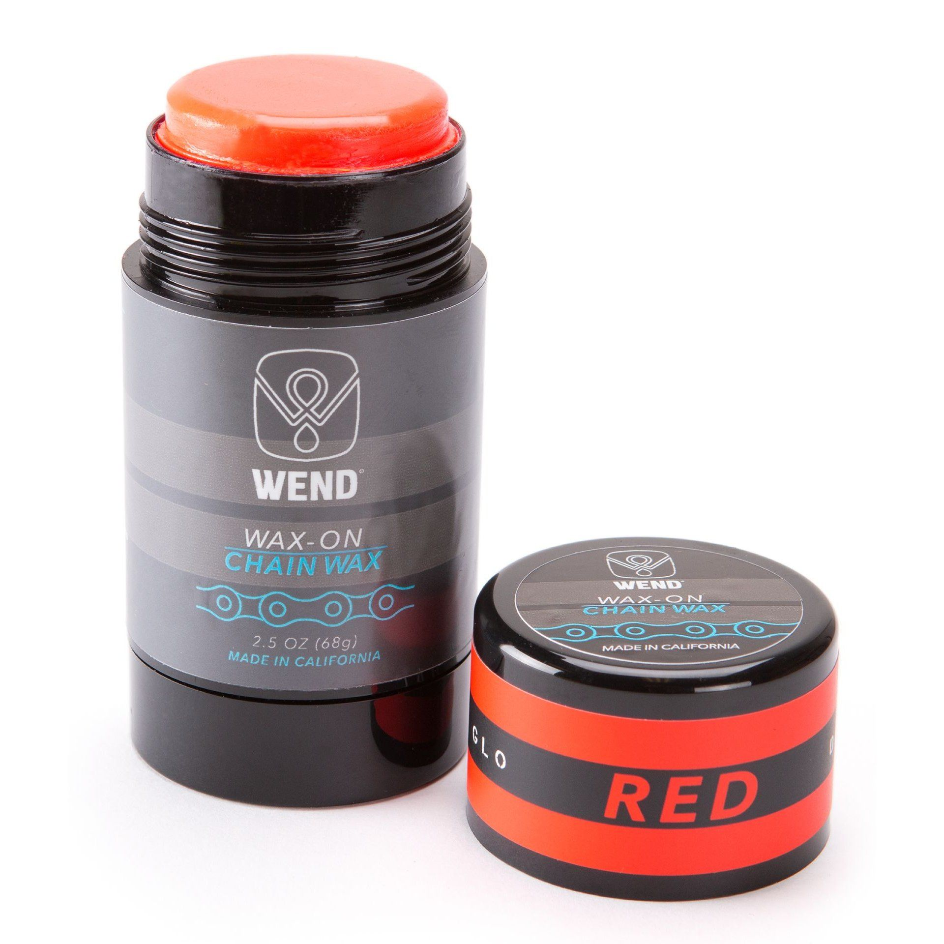 SMAR DO ŁAŃCUCHA WEND WAX ON CHAIN 75ML RED