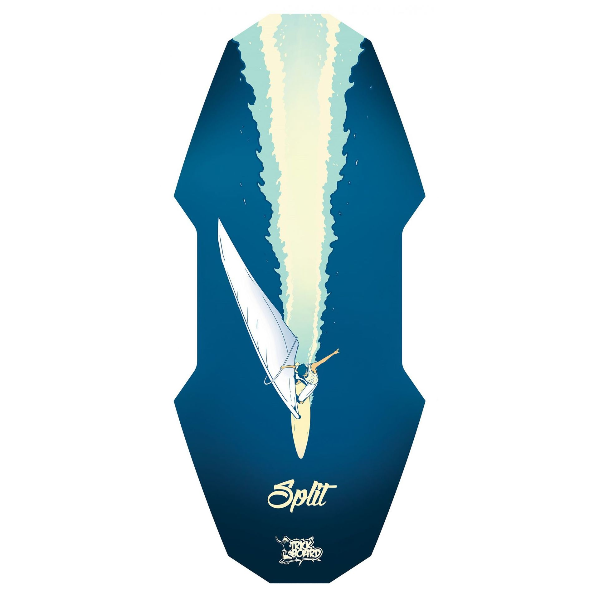 TRICKBOARD ROCKER KIT SURF 0