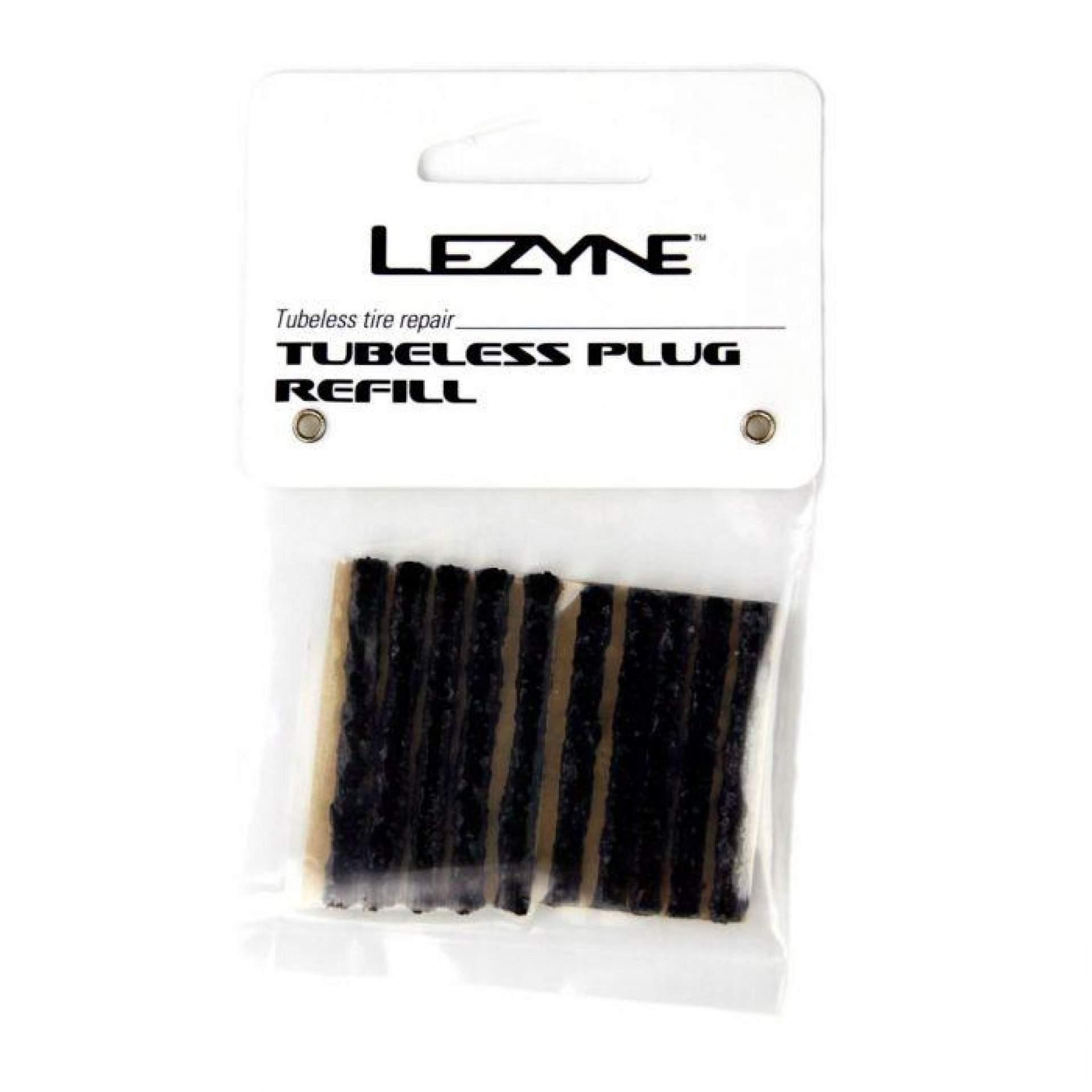 WKŁADY NAPRAWCZE DO SYSTEMÓW TUBELESS LEZYNE TUBELESS PLUG REFILL BLACK 1