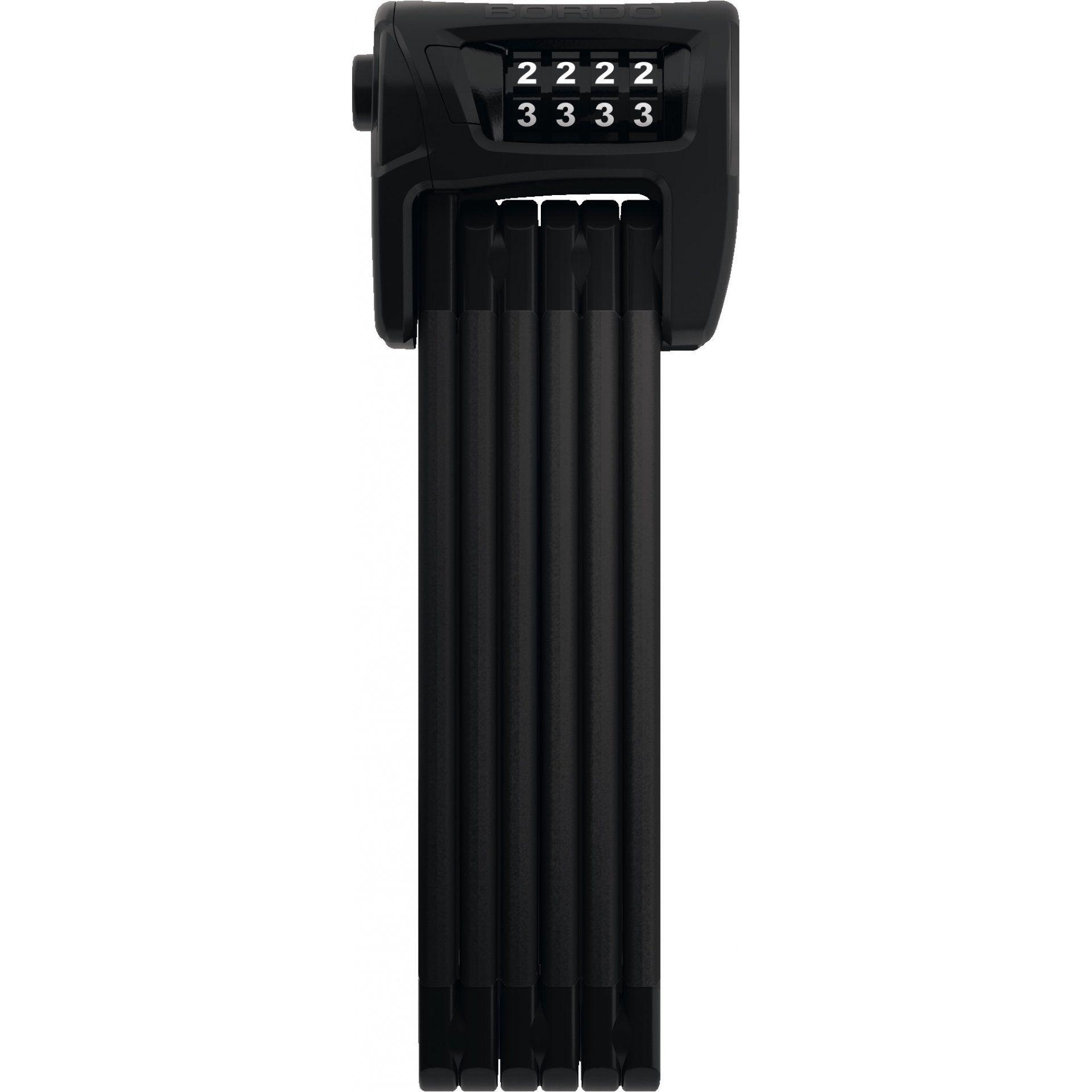 ZAPIĘCIE ROWEROWE ABUS BORDO COMBO SH 6100|90 BLACK 1