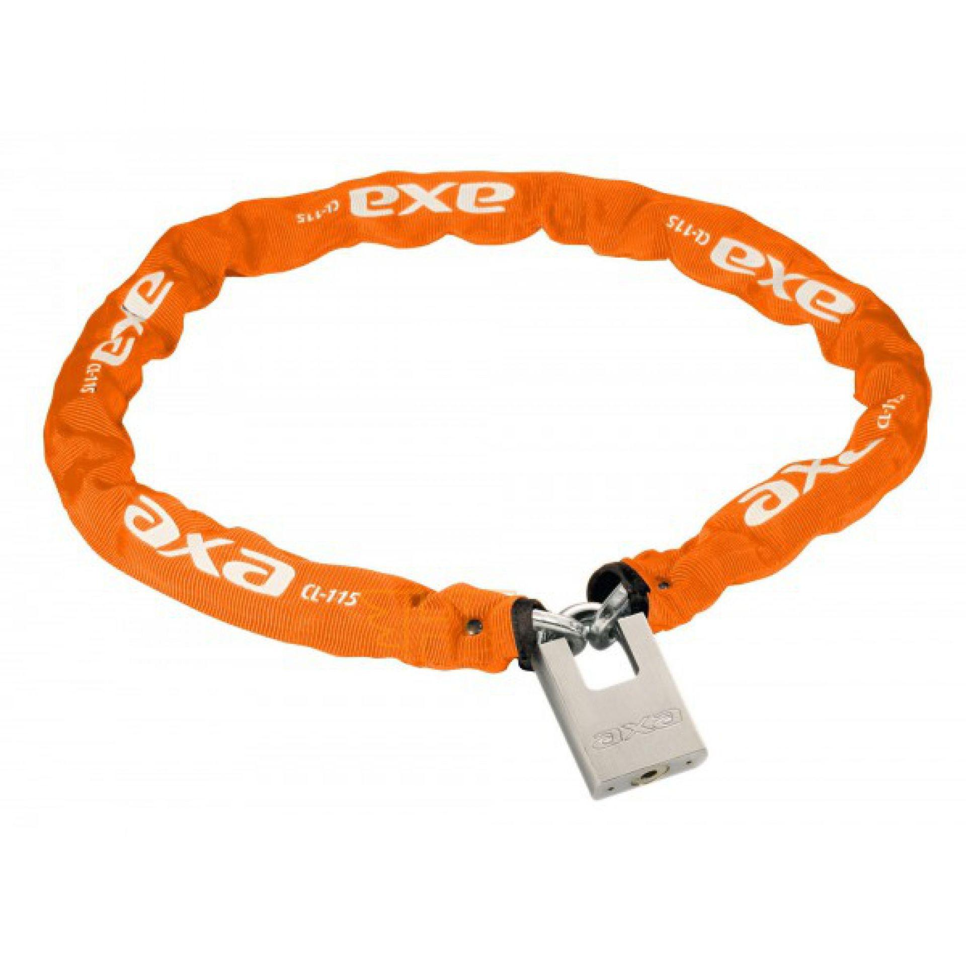 Zapięcie rowerowe Axa Clinch 85 pomarańczowe