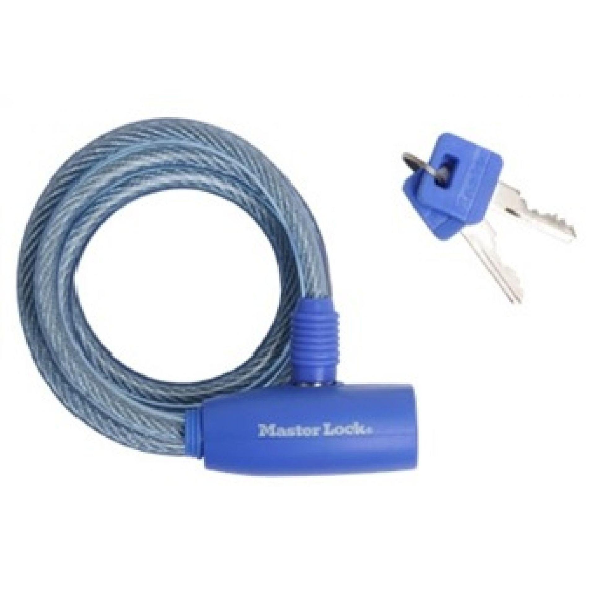 Zapięcie rowerowe Master Lock Quantum 8212 niebieskie
