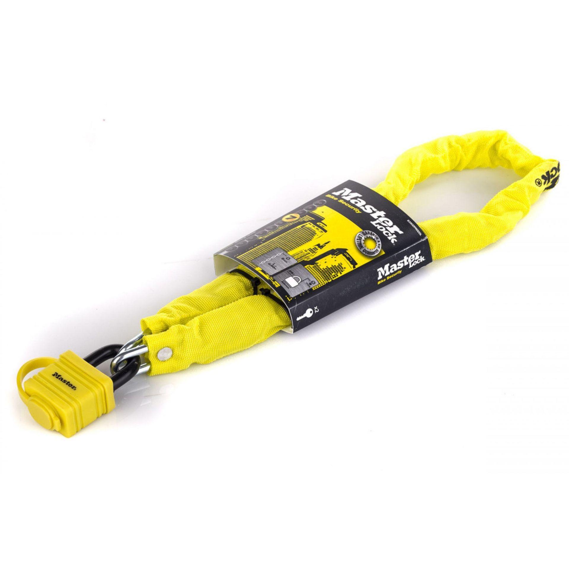 Zapięcie rowerowe Master Lock Quantum 8390 żółte
