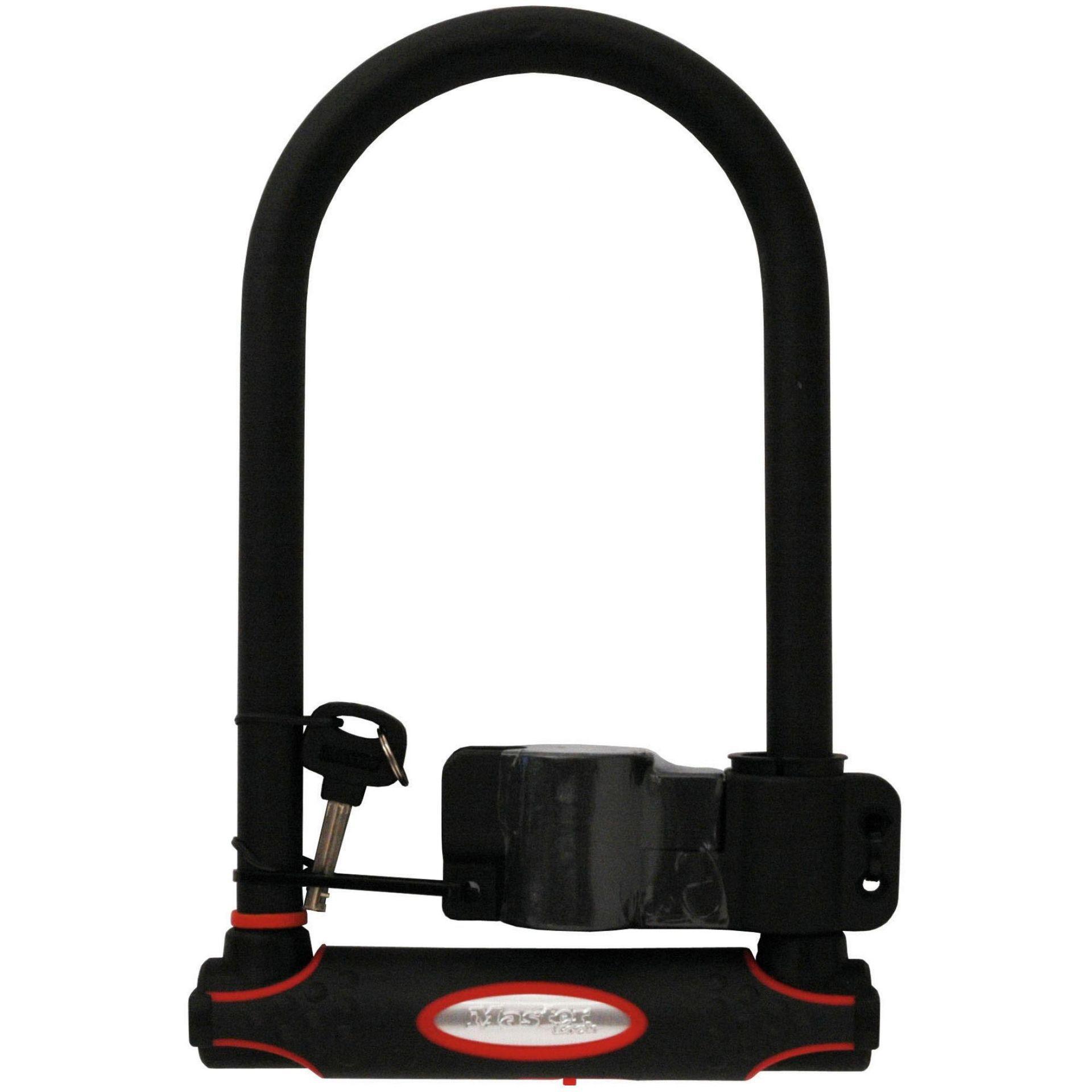 zapi cie rowerowe masterlock u lock 8196 czarny w. Black Bedroom Furniture Sets. Home Design Ideas