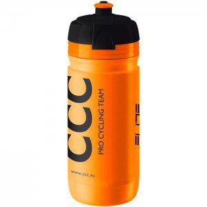 BIDON ROWEROWY ELITE  CORSA TEAM CCC 550 ml  POMARAŃCZOWY