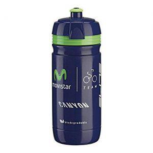 BIDON ROWEROWY ELITE  CORSA TEAM MOVISTAR 550 ml  FIOLETOWY