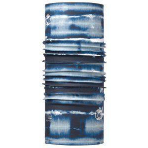 CHUSTA BUFF  HIGH UV PROTECTION SHIBOR SEAPORT BLUE GRANATOWY|NIEBIESKI