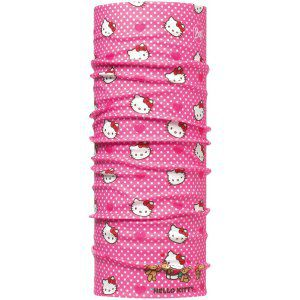 CHUSTA BUFF ORIGINAL CHILD HELLO KITTY HEARTSANDOTS  RÓŻOWY