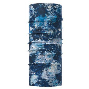 CHUSTA BUFF  ORIGINAL WINTER GARDEN BLUE  GRANATOWY