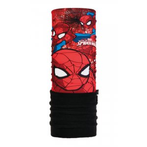 KOMIN BUFF POLAR US JR SPIDERMAN APPROACH MULTICZAERWONY|CZARNY