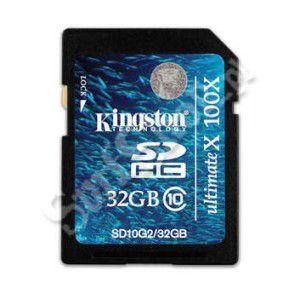 KARTA PAMIĘCI KINGSTONSDHC 10MB/S 32GB