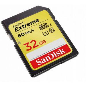 KARTA PAMIĘCI SANDISK  EXTRAME SANDISK 32GB 60MB/S