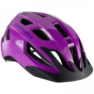 KASK ROWEROWY BONTRAGER  YOUTH SOLSTICE  FIOLETOWY