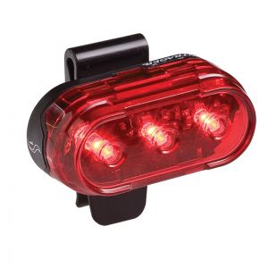 LAMPKA ROWEROWA TYLNA BONTRAGER  FLARE 1  CZARNY