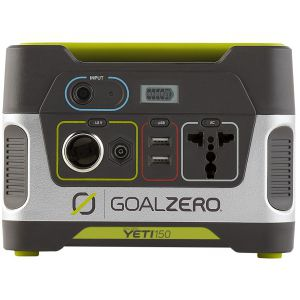POWER BANK|GENERATOR GOAL ZERO YETI 150 CZARNY