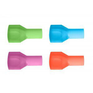 USTNIKI DO BUKŁAKÓW CAMELBAK BIG BITE VALVE 4 COLOR PACK WIELOKOLOROWY