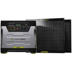 ZESTAW SOLARNY GOAL ZERO 2 x BOULDER 30 +YETI 1250 CZARNY|SREBRNY