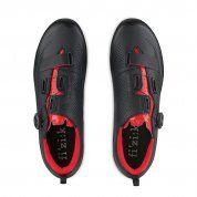 BUTY ROWEROWE FIZIK TERRA X5 1030 BLACK|RED PARA