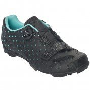 BUTY ROWEROWE SCOTT MTB COMP BOA LADY 251838 MATT BLACK|TUQUOISE BLUE 2