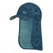 CZAPKA BUFF BIMINI CAP JR KASAI NIGHT BLUE