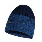 CZAPKA BUFF KNITTED AND FLEECE HAT IGOR NIGHT BLUE