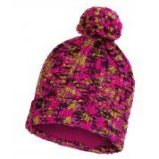 CZAPKA BUFF KNITTED AND FLEECE HAT LIVY MAGENTA