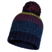 CZAPKA BUFF KNITTED AND FLEECE HAT STIG NIGHT BLUE