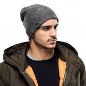 CZAPKA BUFF KNITTED HAT COLT GREY PEWTER NA MODELU