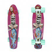 FISHBOARD FISH SKATEBOARDS ART GIRL WHITE SUMMER GREEN