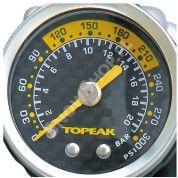 Pompka do amortyzatorów Topeak Pocket shock  DXG manometr czarno srebrna