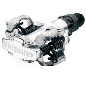 Pedały Shimano PD-M520 z blokami srebrny