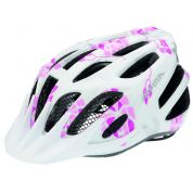 KASK ROWEROWY ALPINA FB JUNIOR 2.0 FLASH WHITE PINK