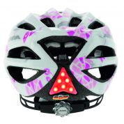 KASK ROWEROWY ALPINA FB JUNIOR 2.0 FLASH WHITE PINK GRAFIKA