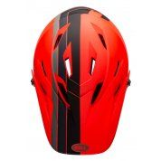 KASK ROWEROWY BELL SANCTION AGILITY MATTE ORANGE BLACK GÓRA
