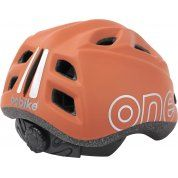 KASK ROWEROWY BOBIKE ONE PLUS CHOCOLATE BROWN TYŁ